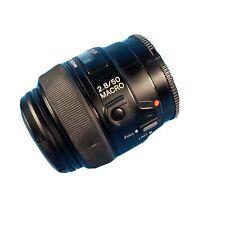Sony 50mm F 2.8 Macro Alpha Mount Autofocus Lens with case