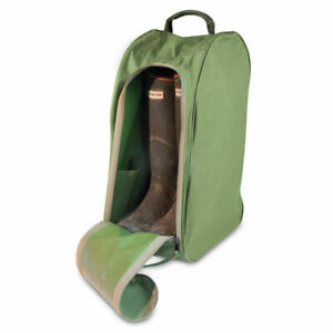 Wellington boot bag with vents in 1680D Heavy Duty Polyester