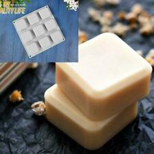 9 Grid Diy Silicone Soap Mold Handmade Candle Soap Moulds Making Square Too R2X3