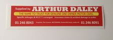 Arthur Daley Oblong Bumper Sticker Audi Toyota Nissan BMW VW Land-Rover etc