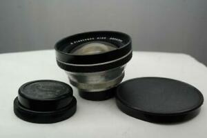 Carl Zeiss Flektogom 25mm f4, Praktina FX, IIa fit lens.