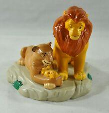 "Disney Lion King 4.5"" PVC Statue Vintage Applause Baby Simba"
