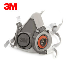 Brande New 3M 6200 reusable Respirator Painting Spraying half Face/Gas Mask