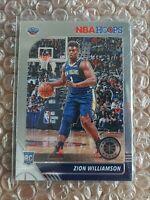 2019-2020 Panini NBA Hoops Premium Stock Zion Williamson Base RC #258 SHIPS FREE