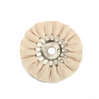 5 inch Cotton Airway Buffing Polishing Wheel Cloth Pads For Grinder Tools 16 Ply