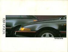 Volvo 480 ES 1.7 1988-89 UK Market Sales Brochure