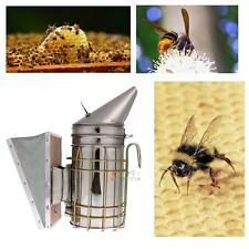 Bee Hive Smoker Stainless Steel Heat Shield Calming Beekeeping Equipment Tool