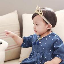 Girl Crown Head Accessories  Hairband Baby Hair Band Elastic Flower Headwear