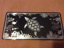 Turtle Black Wholesale Novelty License Plate Bar Wall Decor