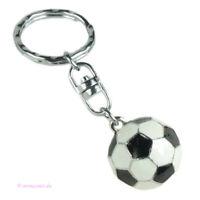 Schlüsselanhänger Fußball schwarz weiß Tor Elf Mannschaft Sieg EM WM