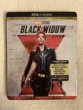 Black Widow (4K Uhd + Blu-Ray + Digital Code, 2021) W/Slipcover. Brand New!