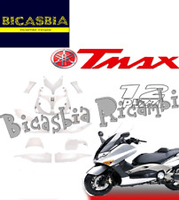 9660 KIT CARENE COMPLETO BIANCO PERLA 12 PEZZI YAMAHA TMAX T-MAX 500 2001 ->2007
