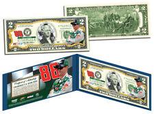 DALE EARNHARDT, JR Nascar #88 Colorized Genuine Legal Tender $2 U.S. Bill