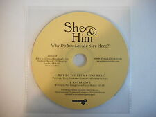 SHE & HIM : WHY DO YOU LET ME STAY HERE ? [ CD ACETATE PORT GRATUIT ]