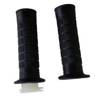 Left Right Black Handlebar Grips 50cc-250cc ATV Dirt Bike Scooter Moped Off Road