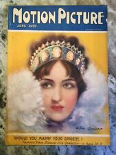 Original June 1925 Motion Picture Magazine Gloria Swanson On Cover SALE 89.00