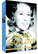 4 x DVD Natasa Gollova Gold Collection Nataša Gollová Zlatá kolekce (EN sub 2DVD
