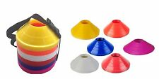 Set Of 60 MINI Field Marker Saucer Disc Cones Soccer Football Agility Training