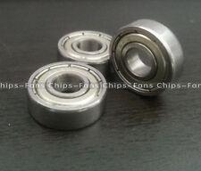 New 10PCS Mini Metal 5x8x2mm MR85ZZ-2 Ball bearing FOR Tamiya Kyoso Traxxs HPI