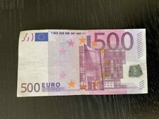 More details for 500 euro bank note 2002 - x series germany sign by trichet x 1 serial no x031