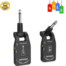 Ammoon Wireless Guitar System 2.4g 6 Channels Audio Transmitter Receiver L2i3