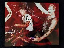 Adventure Club DJ Signed 8x10 photo Autographed COA Electronic PHOTO DUO