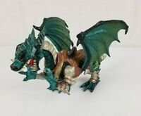 Chap Mei Legends of Medieval Knights Green Dragon Figure With Saddle