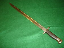 Wwi British P1907 Bayonet, 1916 Dated, Made By Sanderson