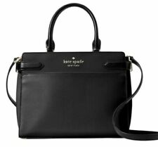 kate spade new york Staci Cameron Satchel Shoulder Tote Bag,Medium - Black