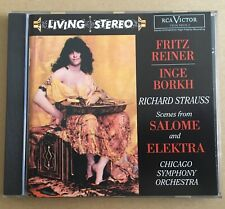 Richard Strauss - Scenes from Salome and Elektra CD RCA Victor Living Stereo