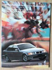BMW Range 1995 USA Market brochure prospekt - 3 5 7 8 Series
