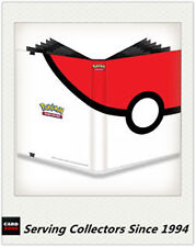 DELUXE Pokemon Card POKEBALL ULTRO PRO A4 Portfolio 9 Card Album holds 360 card