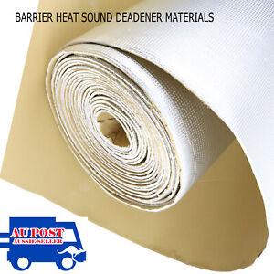 2.2m2 Heat Shield Proofing Sound Deadener Deadening Bonnet Trunk Door Cargo Mat