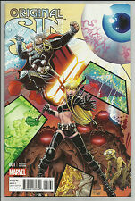 ORIGINAL SIN #1 VARIANT NEAR MINT 2014 UNREAD COPY #cdec16-2213