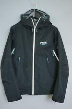 ZBA190 Men Peak Performance Black Light Taped Seams Waterproof Jacket Size M