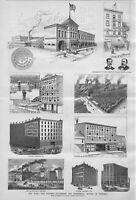 ARCHITECTURE OF BUFFALO STORAGE AND CARTING COMPANY THE MAGNUS BRECK BREWERY