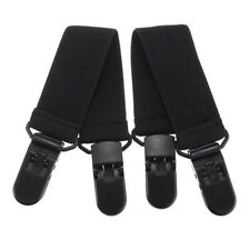 2Pcs Pant Clips Cycling Leg Boot Straps Adjustable Stirrup Curtain Clip Useful