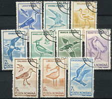 Birds Used Romanian Stamps