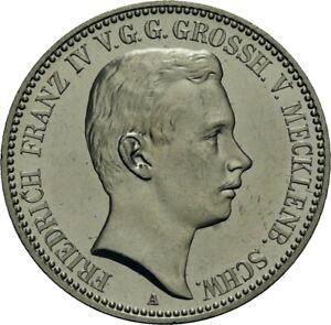 German Empire, Mecklenburg-Schwerin, 2 Mark 1901 A, Friedrich Franz IV