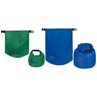 Trespass Exhilaration Camping Hiking Dry Bag Sack Waterproof Food Storage 2 Pack