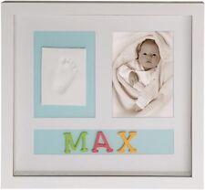 Bilderrahmen Bieco Gipsabdruck Fußabdruck Rahmen Babybilderrahmen Abdruck Boy