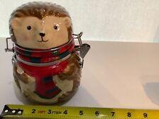 boston warehouse hinged jar Hedge Hog. (loc3)
