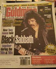 BLACK SABBATH - Goldmine Magazine May 2004 - AC/DC heavy metal issue