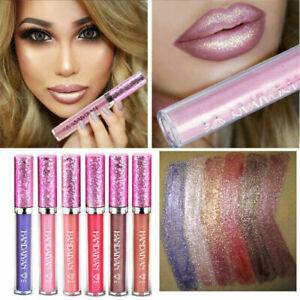 Glitter Liquid Lipstick Matte Waterproof Long Lasting Lip Gloss Makeup 6-Colors!