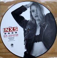 "New / Mint INXS New Sensation 12"" Vinyl Pic Picture Disc"