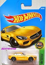 HOT WHEELS 2017 HW EXOTICS '15 MERCEDES-AMG GT #2/10 YELLOW