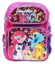 """My Little Pony Friendships Is Magic 16"""" Large School Backpack Book Bag"""
