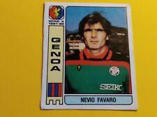 Figurina Album Calciatori Panini 1981/82 n°167 FAVARO GENOA Recuperata