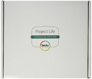 Project Life by Becky Higgins Core Kit - Turquoise Edition