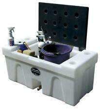 New! High Country Plastics Bench Water Caddy, 25 Gallons!